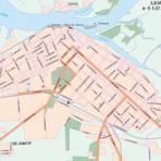 Карта города Азова