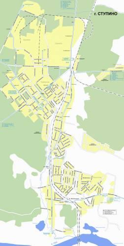 Map Ступина.
