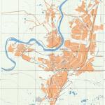Карта города Воркута
