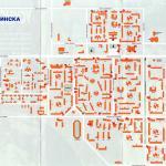 Карта города Усинск