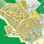 Карта города Ухта