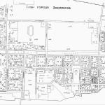 Карта города Знаменск