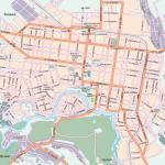 Карта города Майкоп