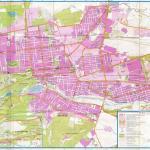Карта города Нальчик