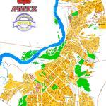 Карта города Ачинск