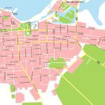 Карта города Анапа