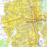 Карта города Апшеронск