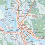 Карта города Архангельск