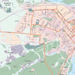 Карта города Барнаул