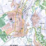 Карта города Белово