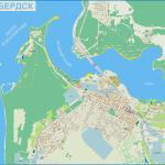 Карта города Бердск