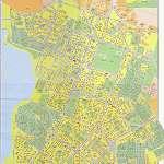 Карта города Березники
