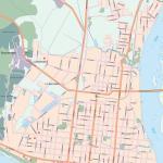 Карта города Благовещенск