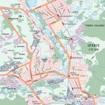 Карта города Брянск