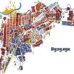 Карта города Бузулук