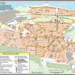 Карта города Дивногорск