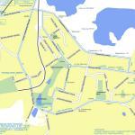 Карта города Дзержинск