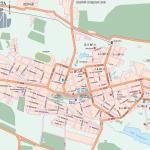 Карта города Элиста