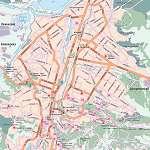 Карта города Ессентуки