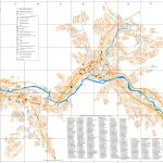 Карта города Горно-Алтайск