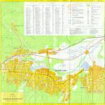 Карта города Горячий Ключ