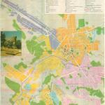 Карта города Грозный