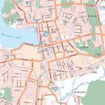 Карта города Ижевск
