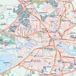 Карта города Калининград