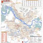 Карта города Канск