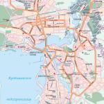 Карта города Казань