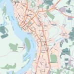 Карта города Хабаровск