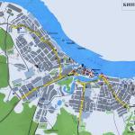 Карта города Кинешма