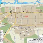 Карта города Коряжма