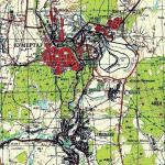 Карта города Кумертау