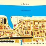 Карта города Курчатов