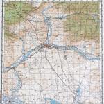 Карта города Кызыл