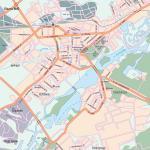 Карта города Липецк