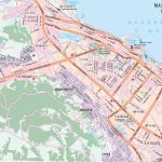 Карта города Махачкала