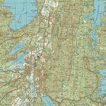 Карта города Миасс