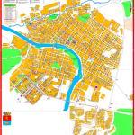 Карта города Минусинск