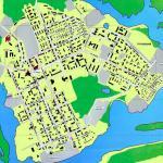 Карта города Нарьян-Мар