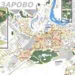 Карта города Назарово