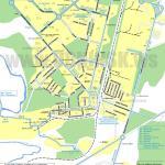 Карта города Обнинск