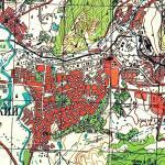 Карта города Октябрьский