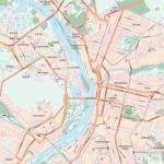 Карта города Омск