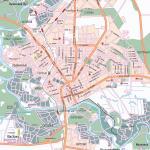Карта города Оренбург