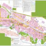 Карта города Прохладный