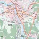 Карта города Псков