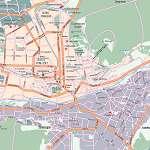 Карта города Пятигорск