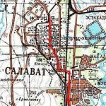 Карта города Салават